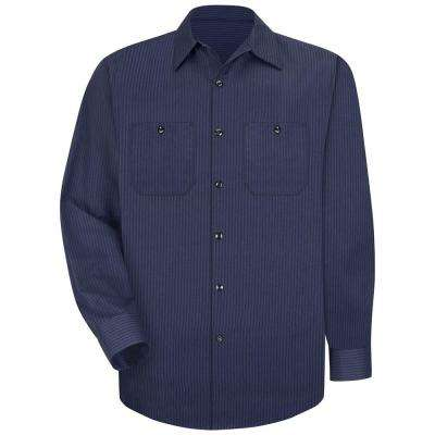 Men's Twin Stripe Long-Sleeve Work Shirt