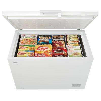11.0 cu. ft. Chest Freezer in White