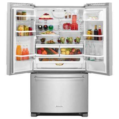 25.2 cu. ft. French Door Refrigerator in Stainless Steel