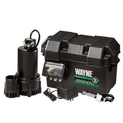 1/3 HP - 12-Volt Battery Backup Sump Pump System