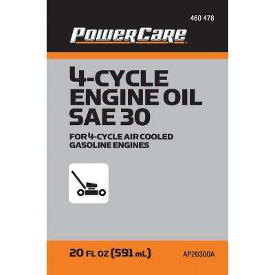 20 oz. SAE 30 Tractor and Lawn Mower Engine Oil