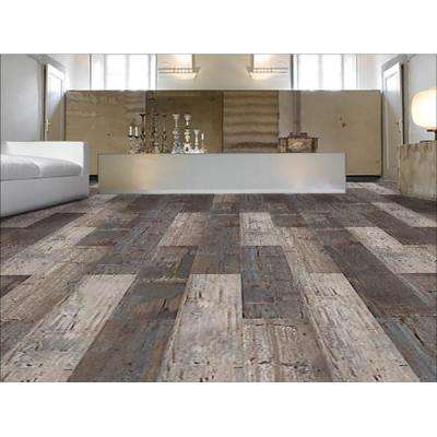Colors Floor and Wall Reggae Wood Style 6 in. x 36 in. Multi-Tonal Glue Down Luxury Vinyl (2400 sq.ft./80 cases/pallet)