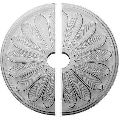 25-1/2 in. O.D. x 3-1/2 in. I.D. x 5-1/2 in. P Brontes Ceiling Medallion (2-Piece)