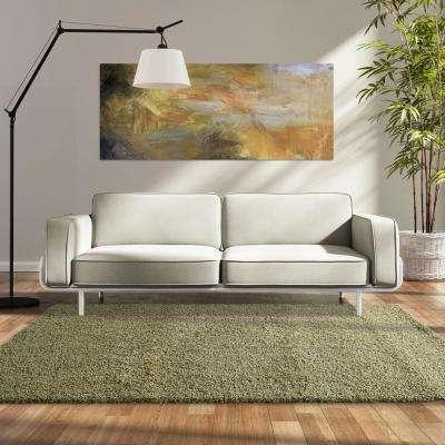 Custom Shag Oregano 9 ft. x 12 ft. Indoor Area Rug