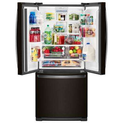 20 cu. ft. French Door Refrigerator in Black Stainless