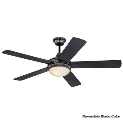 Zander 52 in. Indoor Gun Metal Ceiling Fan