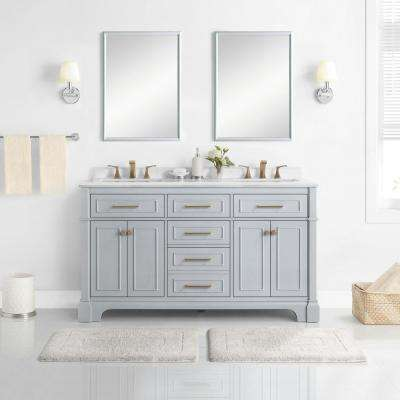 double sink bathroom vanities bath the home depot rh homedepot com