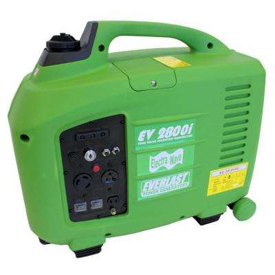 ElectraWave EV2800i 2,800-Watt Gas Powered Portable Inverter Generator