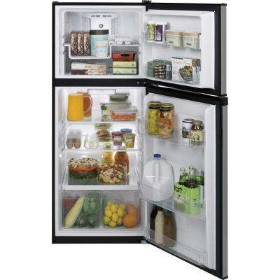 11.6 cu. ft. Top Freezer Refrigerator in Stainless Steel, ENERGY STAR