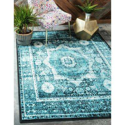 Imperial Lygos Turquoise 8' 0 x 11' 6 Area Rug