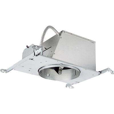 8 in. New Construction Sloped Ceiling Recessed Metallic Housing with Air-Tight, IC