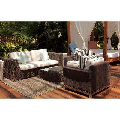 Vineyard Grazelton Natural 8 ft. x 10 ft. Indoor/Outdoor Area Rug