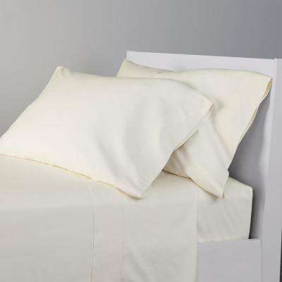 4-Piece 300 Thread Count Bamboo Cotton Sheet Set