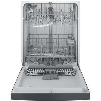 Front Control Dishwasher in Silver