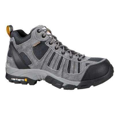 Men's Split Leather and Waterproof Soft Toe 4-inch Lightweight Work Hiker