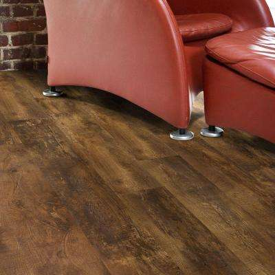 Trail Oak Brown 8 in. x 48 in. Luxury Vinyl Plank Flooring (18.22 sq. ft. / case)