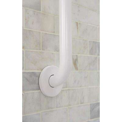 Home Care 32 in. x 1-1/4 in. Concealed Screw Grab Bar in White