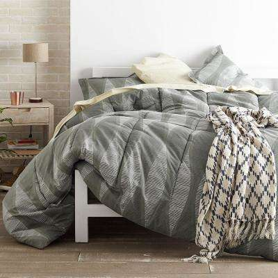Facade Gray Comforter Set