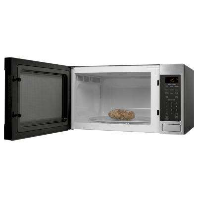 1.6 cu. ft. Countertop Microwave in Stainless Steel with Sensor Cooking