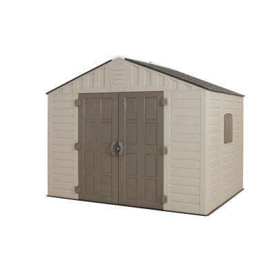 Keter Stronghold 10 ft. x 8 ft. Resin Storage Shed