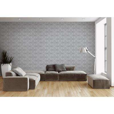 ABRA Collection Light Tangle Removable and Repositionable Wallpaper