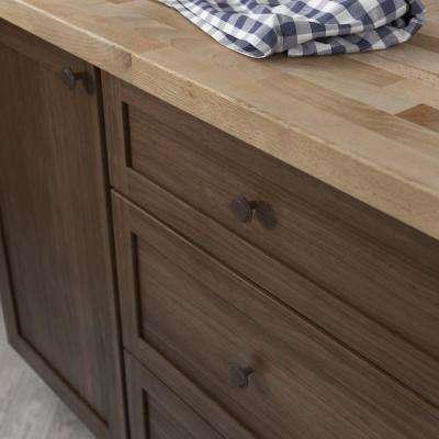 1 PC Matt Black Traditional Cabinet /& Furniture Knobs Hardware Round Drawer Pull Knob Amazer Cabinet Round Knobs