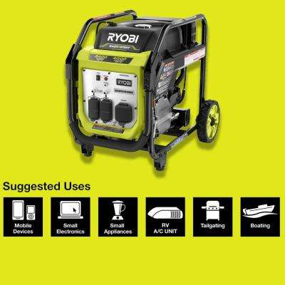 4000-Watt Gasoline Powered Digital Inverter Generator
