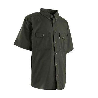 Men's Short Sleeve Ripstop Work Shirt