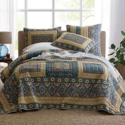 Lodi Garden Cotton Quilt