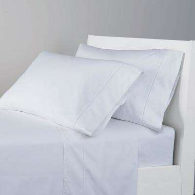 Organic 300-Thread Count Cotton Sateen Sheet Set