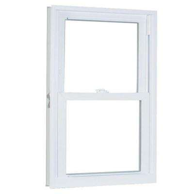 27.75 in. x 45.25 in. 70 Series Double Hung Buck PRO Vinyl Window - White