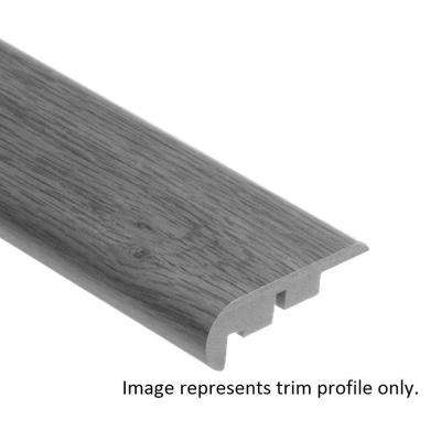 Normandy Oak Natural 3/4 in. Thick x 2-1/8 in. Wide x 94 in. Length Vinyl Stair Nose Molding