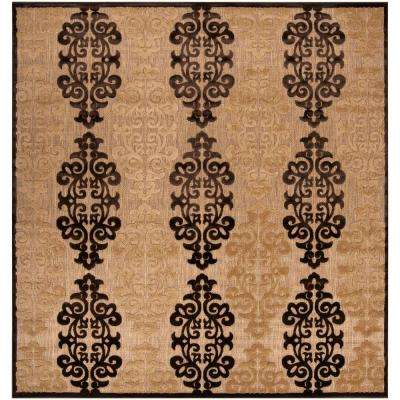Ensenada Natural 7 ft. 6 in. x 7 ft. 6 in. Square Area Rug