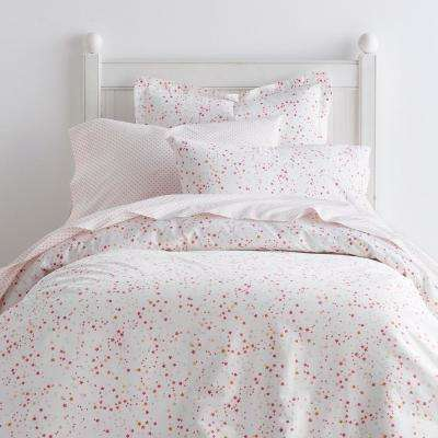 Starlight 200-Thread Count Cotton Percale Duvet Cover