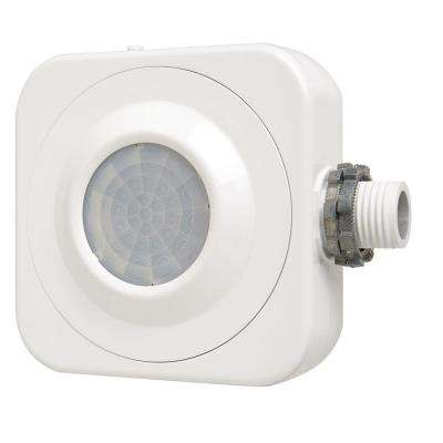360-Degree Passive Infrared Occupancy Sensor Fixture Mount High Bay