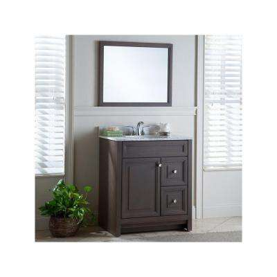 Brinkhill 30 in. W x 34 in. H x 21 in. D Bathroom Vanity Cabinet Only in Flagstone