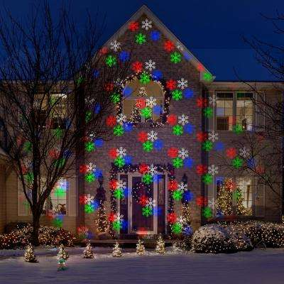AppLights LightShow Projection Snowflakes SnowFlurry 76 Effects