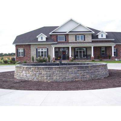 Pantheon 6 in. x 16 in. x 12 in. Concrete Limestone Retaining Wall Full Block