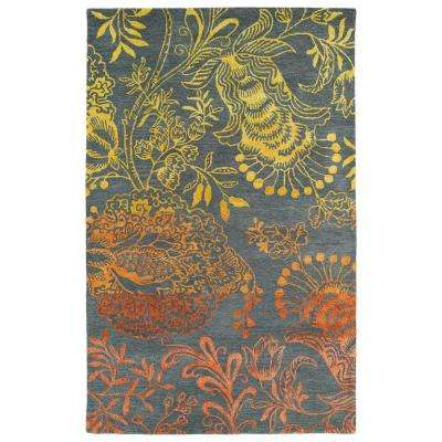 Divine Fire 9 ft. 6 in. x 13 ft. Area Rug