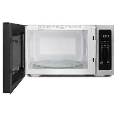 Architect Series II 1.6 cu. ft. Countertop Microwave in Black Built-In Capable with Sensor Cooking