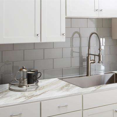 White Laminate Countertops Countertops The Home Depot