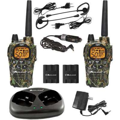 Mossy Oak X-TRA Talk GMRS 36-Mile 50-Channel 2-Way Radios (2-Pack)