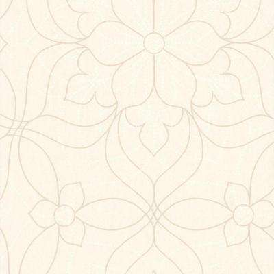 Charlotte Pearl Modern Floral Wallpaper