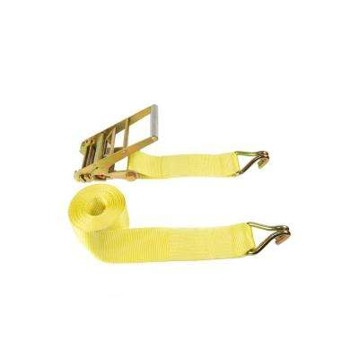 4 in. x 27 ft. Industrial Ratchet Buckled Strap
