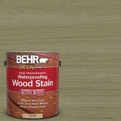 1 gal. #ST-151 Sage Semi-Transparent Waterproofing Wood Stain