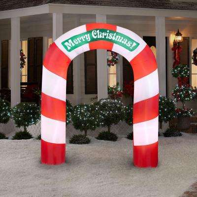 7.5 ft. H Inflatable Merry Christmas Archway
