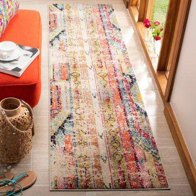 Monaco Multi 2 ft. x 18 ft. Runner Rug