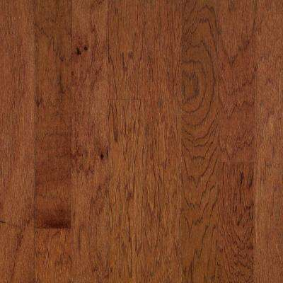 Brandy Wine Red Hickory 3/8 in. Thick x 1-1/2 in. Wide x 78 in. Length Reducer Molding