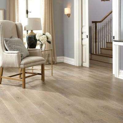Castlebury Stonington Eurosawn White Oak 1/2 in. T x 7 in. W x Random Length Eng Hardwood Flooring (31 sq. ft. / case)