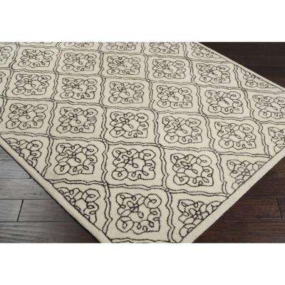 Candice Olson Ivory 3 ft. x 8 ft. Runner Rug